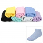 Stylish Women's Cotton Sock w/ Days of The Week Mark - Multicolored (7 Pair)