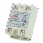 SSR-10DD Solid-state Relay - White + Silver