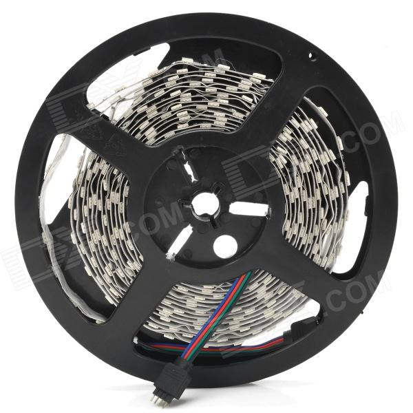JRLED 144W 6000lm 5050 LED RGB Car Decoration Light Strip (12V / 5m)5050 SMD Strips<br>MaterialCopper + chipsetForm  ColorBlack + whiteQuantity1 DX.PCM.Model.AttributeModel.UnitPowerOthers,144WRated VoltageOthers,12 DX.PCM.Model.AttributeModel.UnitEmitter Type5050 SMD LEDTotal Emitters600Color BINRGBWavelength620 (red) / 510 (green) / 460 (blue) nmActual Lumens6000 lm DX.PCM.Model.AttributeModel.UnitPower AdapterOthers,-Other FeaturesLifespan: 50,000 hours; Overall length: 5m; Power: 28.8W/m; Low voltage, long life and environmental; Back side with adhesive tape, easy installation; Widely used in room, hotel, club, mall, etc places, or as decoration on bicycle and car.Packing List1 x Light strip<br>