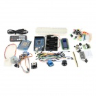 TJ2560 Learning Main Development Board + Expansion Board + Breadboard Set for Arduino - Blue + Black