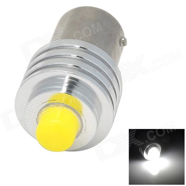 LX LX3005 1156 6W 300lm 6500K 1-LED White Light Reversing Lamp - Silver