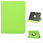 Lychee Pattern 360 Degree Rotation PU Leather Case for Samsung Galaxy Tab 3 P5200 - Green