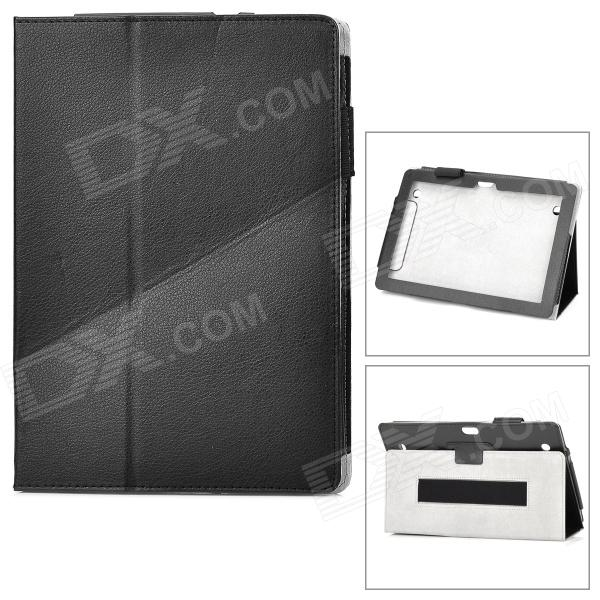 Protective PU Leather Case for Huawei MediaPad 10 - Black