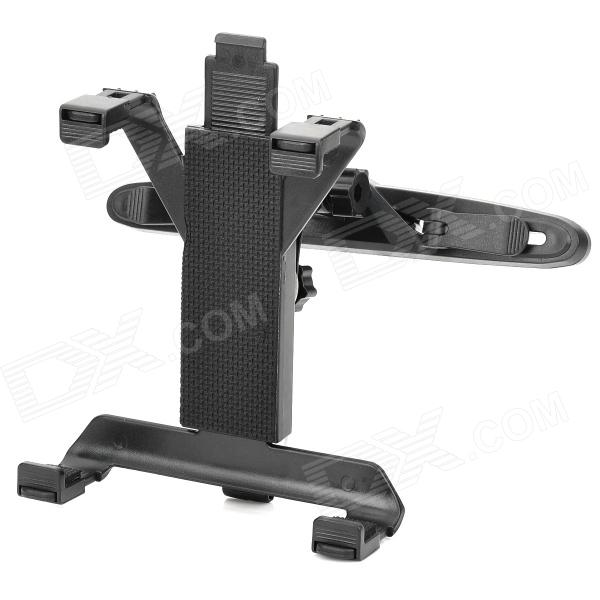Car Seat Headrest 360 Degree Rotation Mount Holder for 7~10 Tablet PCs - Black
