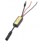 12V Car Audio Speaker Frequency Reducing Antenna - Black