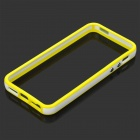 Protective TPU Bumper Frame for Iphone 5 - Yellow + White