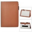 Protective PU Leather Case for Huawei MediaPad 10 - Brown