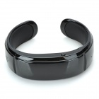 Novel Bluetooth Bracelet w/ Answer Call + Vibration Function + Digital Time - Black