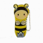 Rimei Cute Bee Style Nail Clipper - Yellow + Black + Silver