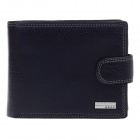 BEIDIERKE B023-206 High-grade Head Layer Cowhide Wallet - Black