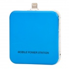 Portable 2200mAh External Battery Charger for iPhone 5 / iPod Touch 5 - Blue