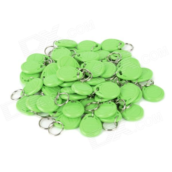 MJID-50 Entrance Guard Inductive ID Key Card - Green (50PCS) m 013 door entrance guard id card white 10 pcs