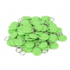 MJID-50 Entrance Guard Inductive ID Key Card - Green (50PCS)