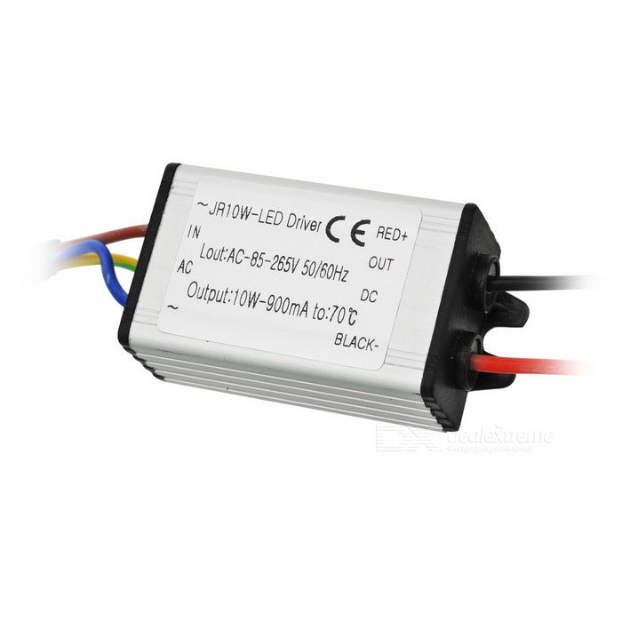 waterproof led driver silver (3 series and 3 in parallel) free