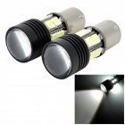 EXLED 1156 5.4W 244lm 6500-7000K 12-5050 SMD 1-Cree XT-E R3 White Car Reversing Light (12V / 2 PCS)