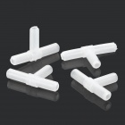 DIY Plastic Water Pump Line Tube - White (4 PCS)
