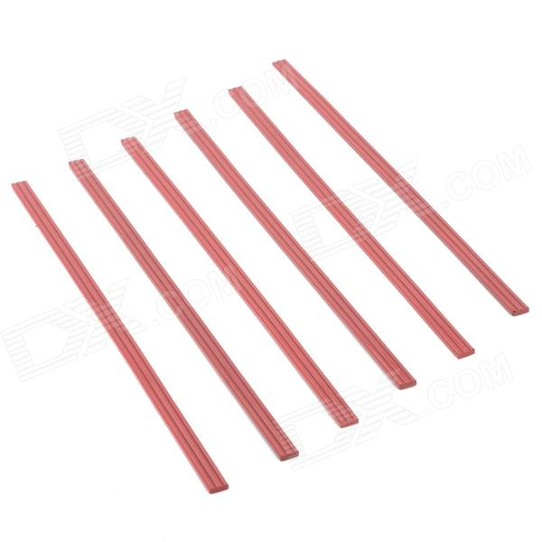 Long Magnetic Stripes for White Board - Red (30cm / 6 PCS) long magnetic stripes for white board red 30cm 6 pcs