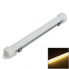 Epistar D0389-20010 8W 750lm 3300K COB LED Warm White Lamp Module w/ Radiator - White + Silver