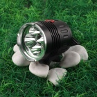 NITEFIRE NFC-42 4 x Cree XM-L T6 1720lm 3-Mode White Bicycle Light - Black (4 x 18650)