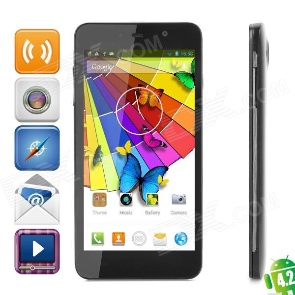 "THL W200 WCDMA Quad-Core Android 4.2 Bar Phone w / 5,0 ""Kapazitive Bildschirm, Wi-Fi und GPS (ROM 8GB)"