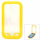 Professional Diving Waterproof Case for Samsung Galaxy S4 i9500 - Yellow