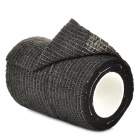 Multifunction Non-woven Fabric Flexible Cohesive Emergency Bandage - Black (4.5m)