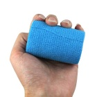 Self-Adhesive Elastic Breathable Medical / Sports Bandage - Blue (7.5cm x 4.5m)