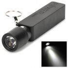 "External ""2600mAh"" Power Battery Charger w/ USB Flashlight for Iphone / Ipod / Samsung / HTC - Black"