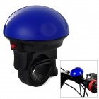 HH-08 UFO Style Super Loud Bicycle Electronic Bell - Blue + Black (2 x LR1)