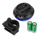 UFO Style Super Loud Bicycle Electronic Bell - Blue + Black (2 x LR1)