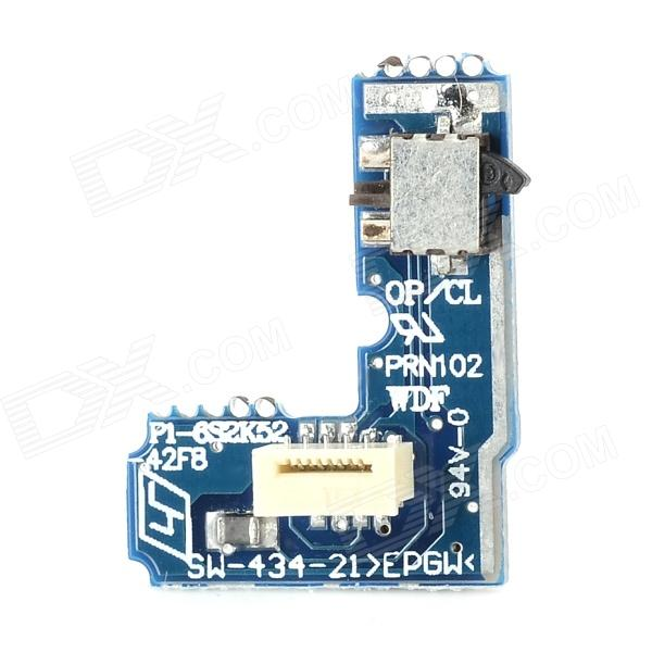 Replacement Switch Power Circuit Board for PS2 70000 - Blue replacement 430 laser drive module for ps2 70000