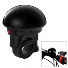 UFO Style Super Loud Water Resistant Bicycle Electronic Bell - Black (2 x SUM5 R1P)