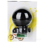 UFO Style Super Loud Water Resistant Bicycle Electronic Bell - Black