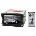 "6.2"" Universal Car DVD GPS Navigation Multimedia System - Black"