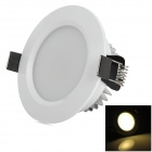 HUGEWIN HTD685W 3W 140lm 3500K 6-LED Warm White Ceiling Light - White