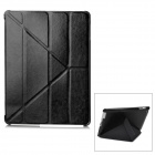 Protective PU Leather Folding Case for Ipad 3 / 4 - Black