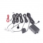 DCLD-001  Car LED Parking Backup Radar w/ 4 Sensor - Black + White