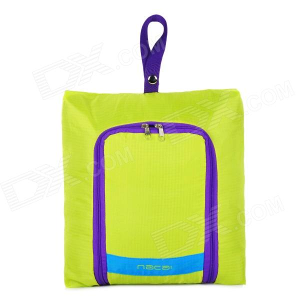 Traveling Nylon Carrying Pouch - Green (Size L)