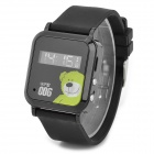 "Cityeasy 006 Mini 0.8"" LCD Quad-Band GSM GPS Wrist Watch Tracker Phone for Kids - Black"