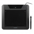 Huion 680s USB Powered Digital Drawing Capture Graphics Tablet w/ Stylus Pen - Black