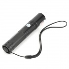 RZ-LZZ850 5mW 650nm Red Laser Pointer Flashlight - Black (1 x 16340)
