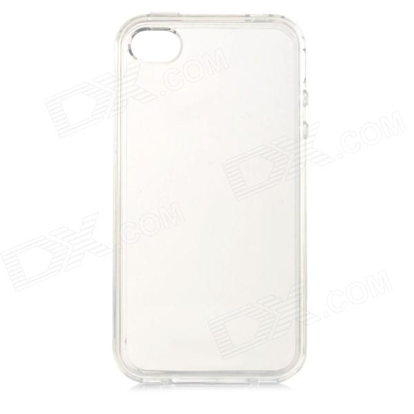 TM-1 Protective TPU Back Case for Iphone 4 / 4S - Transparent