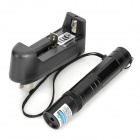 RZ-LZZ850 5mW 405nm Blue-Violet Laser Pointer Flashlight - Black (1 x 16340)