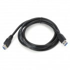 USB 3.0 Male to Female Extension Cable - Black (150cm)