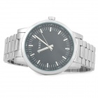 Curren 8131 Fashionable Men's Quartz Analog Wrist Watch - Silver + Black (1 x 626)