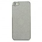 22040018M Stylish Shiny Protective Electroplated PC Case for Iphone 5 - Silver