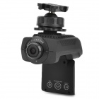 "AT90 Car Mounted 1.5"" TFT Display 5.0MP CMOS 4X Zooming HD DVR - Black (64GB Max.)"