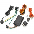 MT3326 GPS Anti-roubo Vehicle Tracker para carro / motocicleta - Preto + Laranja