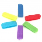 Velcro Cable Winder Tie Band for Battery on R/C Model - Multicolor (6 PCS)