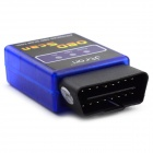 ELM327 Bluetooth OBD2 V1.5 Car Diagnostic Interface Tool - Blue